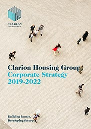 Clarion Housing Group Corporate Strategy 2019-2022 report cover